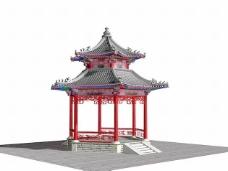 中式建筑3d模型下载3d 31