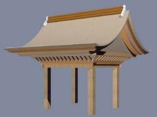 中式建筑3d模型下载3d建筑模型 37