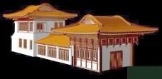 中式建筑3d模型下载3d建筑模型 17