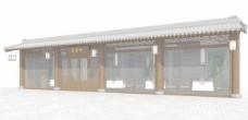 中式建筑3d模型下载3d建筑模型下载 24
