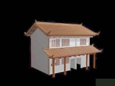中式建筑3d模型下载3d 19