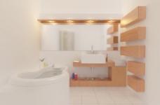 室内设计国外精品3d素材3d装修模板 97