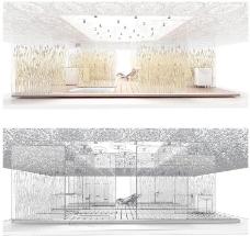 室内设计国外精品3d素材装饰素材 16
