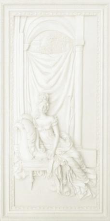 室外模型欧式浮雕3d素材装饰素材 117