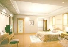室内设计卧室3d素材3d模型 7