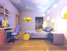 室内设计卧室3d素材3d素材 92