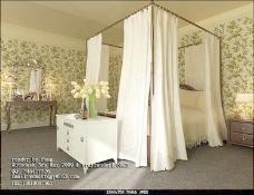 室内设计卧室3d素材装饰素材 30
