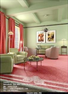 工装室内模型下载工装室内3d下载 12