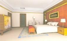 室内设计卧室3d素材室内设计 110