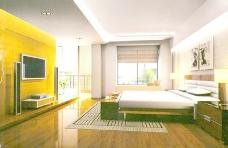 室内设计卧室3d素材3d素材 86