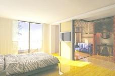 室内设计卧室3d素材装饰素材 115