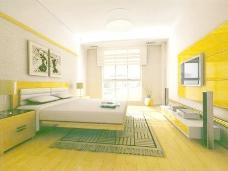 室内设计卧室3d素材3d模型 104
