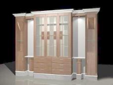 室内设计背景墙3d素材3d素材 84