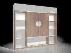 室内设计背景墙3d素材3d素材 6
