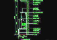 客厅装饰柜CAD详图素材69