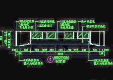 客厅装饰柜CAD详图素材67