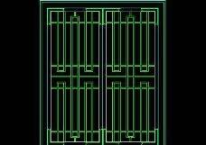 中式窗CAD图块素材16