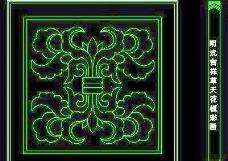 cad中式彩画图块素材5