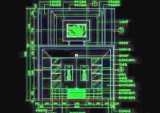 客厅装饰柜CAD详图素材64