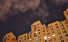 建筑物夜景图片
