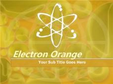 黄色电子工业ppt模板下载