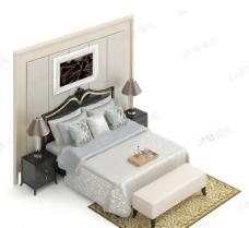 3D床模型