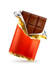 金色包装的巧克力