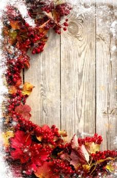 花朵木板背景