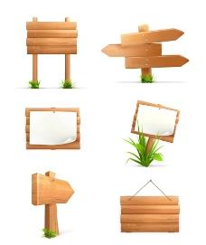 木質廣告牌圖片
