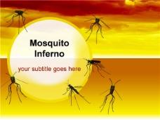 蚊子ppt模板