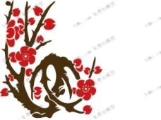梅花壁纸,鲜花,壁画,沃尔玛