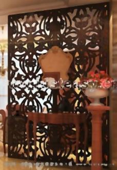 中国式的背景墙,背景墙,中式家具