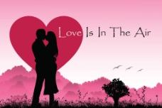 情侣接吻图片