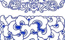 青花瓷纹样