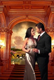 情侣房地产广告