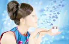 美女化妆品广告模板