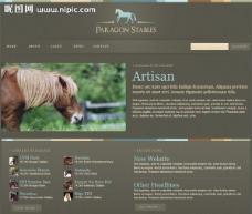 马培训销售网页模板