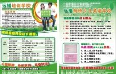 教育培训学校宣传页