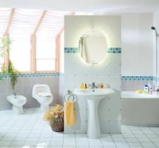 清新卫浴套间