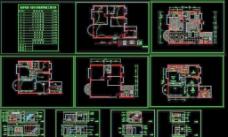 中式室内设计施工图