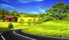 乡村公路图片