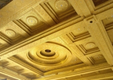 红木家具展厅吊顶局部图片