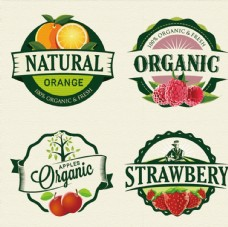 包装水果商标标签