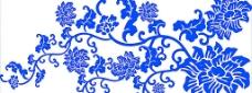 青花瓷 精美分层青花