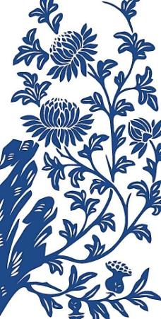 青花瓷图案 花纹