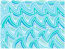 摘要水波背景矢量插画