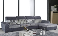 高清布艺沙发