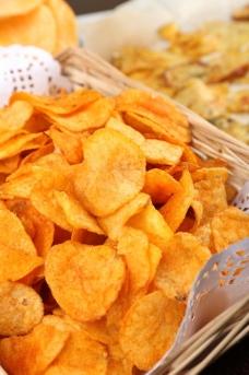 薯片 快餐图片