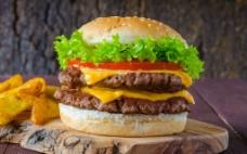汉堡 快餐图片