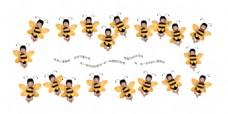 小蜜蜂宝宝相册排版